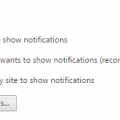 How To Disable Google Chrome Notification Settings