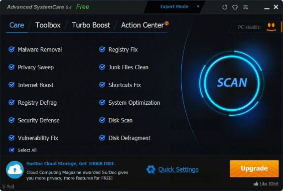 advanced systemcare ultimate serial download