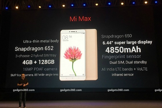 Xiaomi Mi Max Price, Specifications, Release Date, and Details