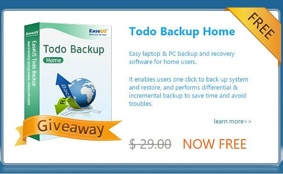 EaseUS Todo Backup Home 8.6 Free Download With Genuine License Serial Code