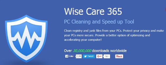 WiseCleaner Wise Care 365 Pro Free Download With 6-months Genuine License Serial Key Code