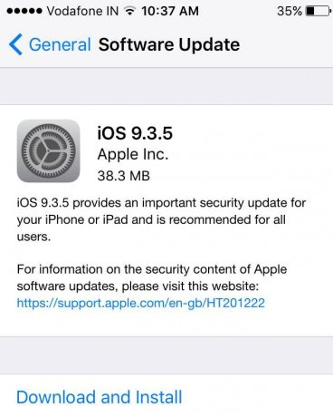 iOS 9.3.5 Official Direct Download Links