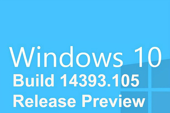 Windows Cumulative Build 14393.105 Release Preview