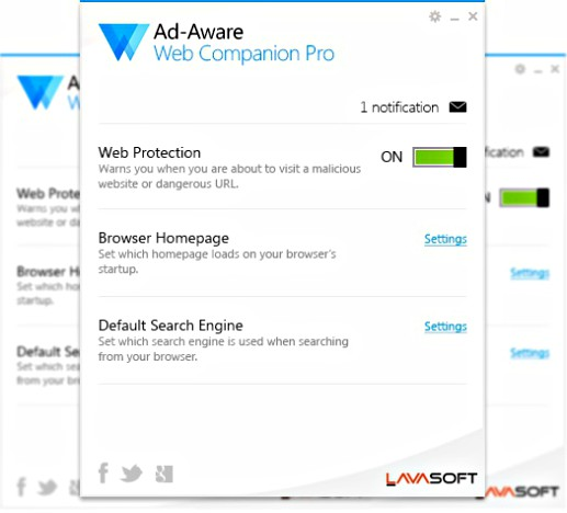 Ad-Aware Web Companion Pro Free Download With Genuine License Serial Key