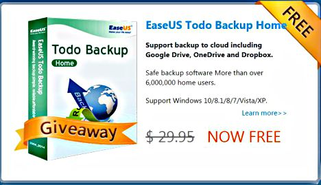 EaseUS Todo Backup Home Free Download With Genuine License Serial Key Code Free