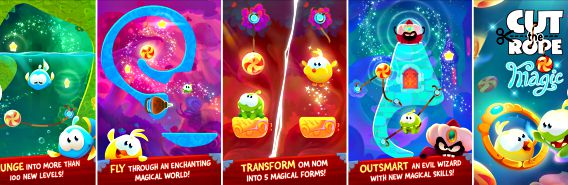Cut the Rope Magic Available for Free Download as Apple's App of the Week – iOS, iPhone, iPad
