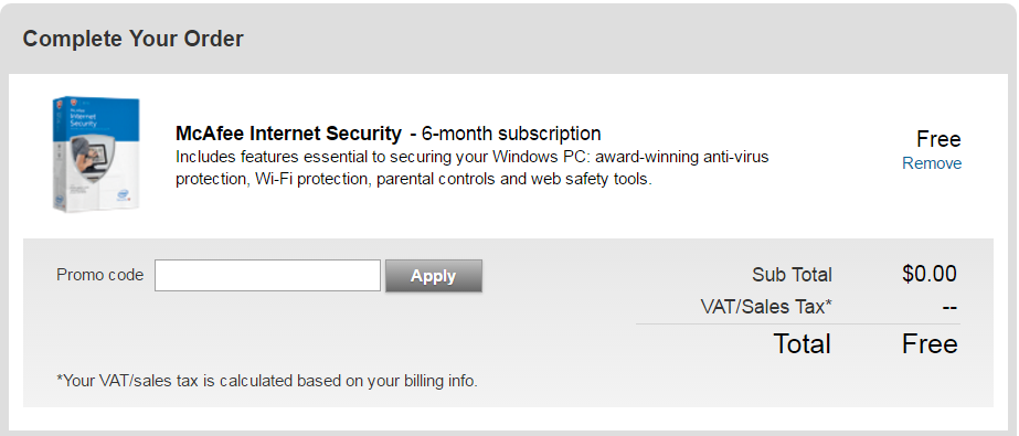 Mcafee Internet Security Free Download With 6 Months