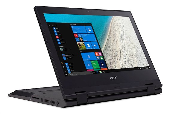 TravelMate Spin B1 - Acer's First Windows 10 S Convertible Laptop for $299