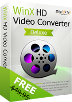 WinX HD Video Converter Deluxe Free Download With Genuine License Serial Key