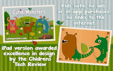 Free 16 Premium Paid Android Apps and Games [Cutie Monsters HD]