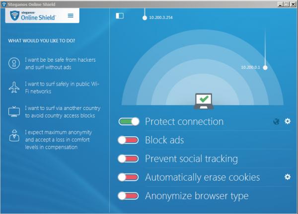 Steganos Online Shield VPN Free Download With Genuine