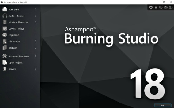 key ashampoo burning studio 2018